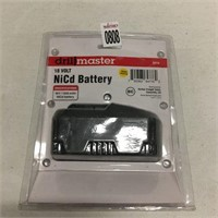 DRILL MASTER 18V NICD BATTERY  (AS IS)