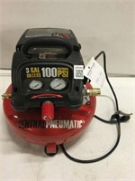 "CENTRAL PNEUMATIC 1/3"" HP 100 PSI OILLESS AIR"