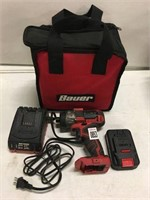 "BAUER 1/4"" HEX COMPACT IMPACT DRIVER KIT  (AS IS)"