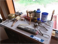 Assorted Collectible Shaving Items Including: Brus