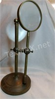 Vintage Magnifying Glass on Stand