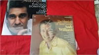 Andy Williams and John Denver Albums