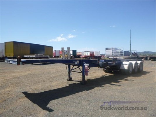 2002 Southern Cross Skeletal Trailer Western Traders 87 - Trailers for Sale