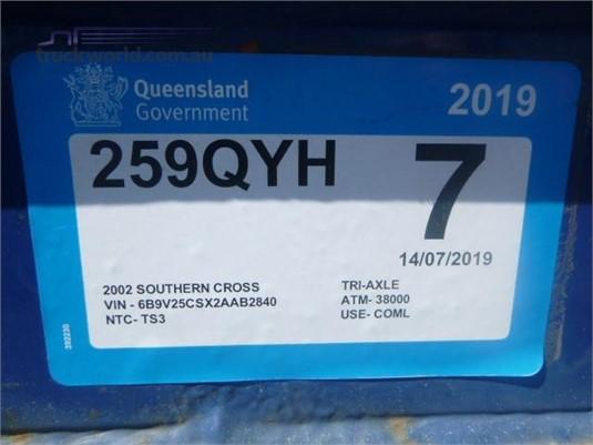 2002 Southern Cross Skeletal Trailer Western Traders 87 - Trailers for Sale