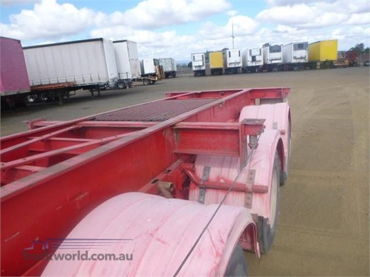 0 Hamelex White Skeletal Trailer Western Traders 87 - Trailers for Sale