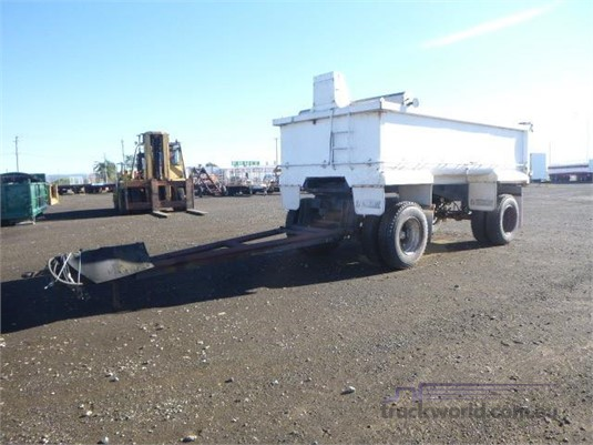 1984 Homemade Tipper Trailer Western Traders 87 - Trailers for Sale