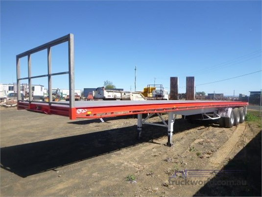 2009 Southern Cross Flat Top Trailer Western Traders 87  - Trailers for Sale