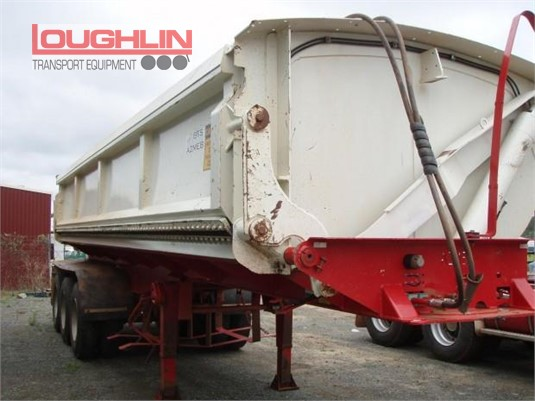 2012 Azmeb Tipper Trailer Loughlin Bros Transport Equipment - Trailers for Sale