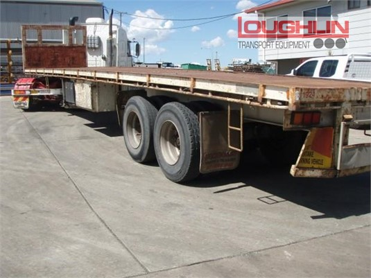 Freighter Flat Top Trailer Loughlin Bros Transport Equipment - Trailers for Sale