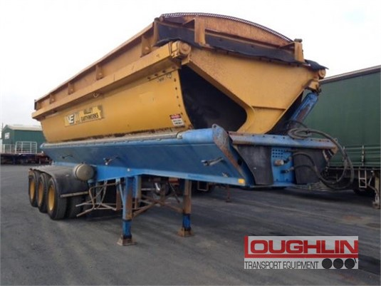 2003 Azmeb Tipper Trailer Loughlin Bros Transport Equipment - Trailers for Sale