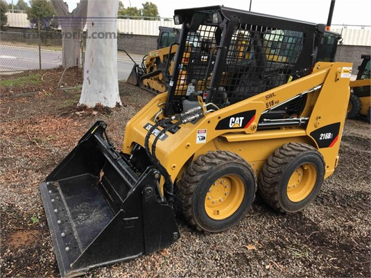 2018 Caterpillar 216B3 Heavy Machinery for Sale