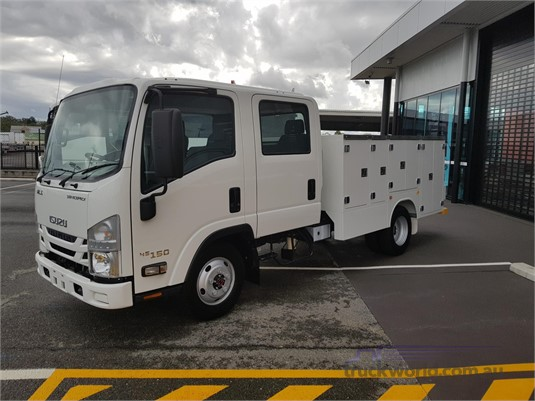 2017 Isuzu NLS 45 150 Crew ServicePack Trucks for Sale