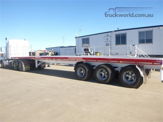 2010 Southern Cross Flat Top Trailer Western Traders 87  - Trailers for Sale