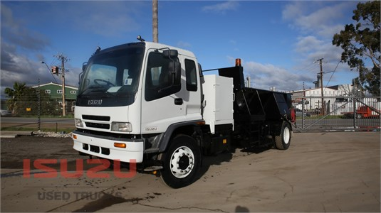 2001 Isuzu FVD 950 Used Isuzu Trucks - Trucks for Sale
