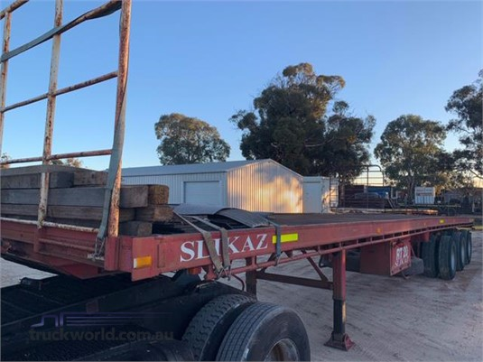 1987 Fruehauf Flat Top Trailer  - Trailers for Sale