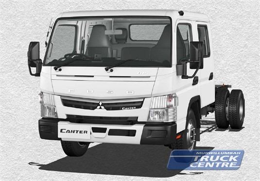 Fuso Canter 4x2 815 Wide Crew Cab LWB 6 Sp. DCT