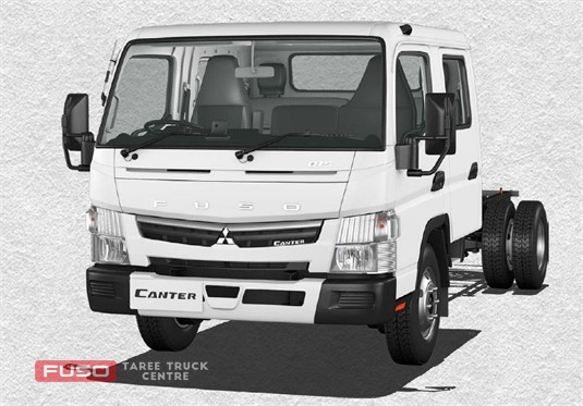 Fuso Canter 4x2 815 Wide Crew Cab MWB 6 Sp. DCT
