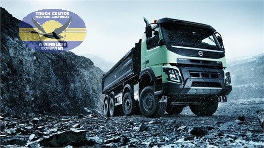 Volvo FMX11 HAX 8x4 Rigid Air Ride Construction/Heavy