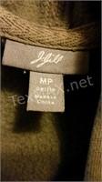J Jill Ladies Fleece Lined Jean Jacket