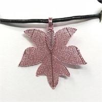 Natural Leaf  Necklace (170 - CR116)  (D2)