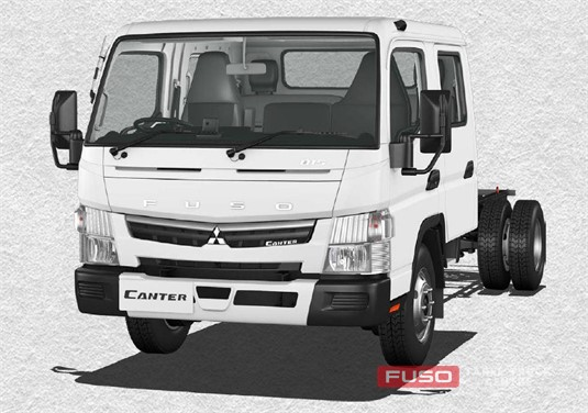 Fuso Canter 4x2 815 Wide Crew Cab LWB 5 Sp. MAN