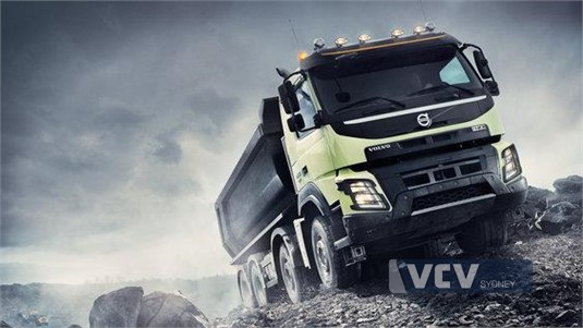 Volvo FMX13 CAX 8x4 Rigid Air Ride Mining Support UFUP
