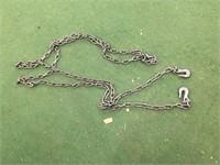 """5/16""""x 20 ft Log Chain w/ 2 Hooks"""