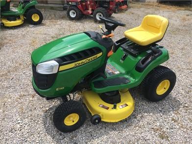 JOHN DEERE E110 For Sale - 9 Listings | TractorHouse com