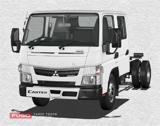 Fuso Canter 4x2 515 City Crew Cab MWB 6 Sp. DCT