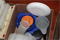 Tupperware and Food Storage Containers, Paper ware
