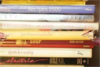 Box of Cook Books, Recipe Books