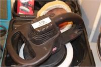 "Craftsman 9"" Buffer/ Polisher w/ Buffing Pad, Case"