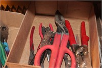 11pc Strap Wrenches, Pry Bar, Pipe Crimper, &more
