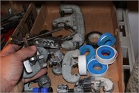 9pc Pipe Cutters, Plumbers Tape, and More