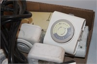 9 Piece Outlet Timers and Power Cord