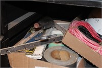 Abrasives, Duct Tape, Trowel, Safety, Filters