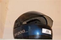 """Motorcycle Helmet 7-3/4"""""""