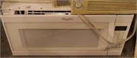 "Whirlpool 29"" White Microwave Oven- Like New"