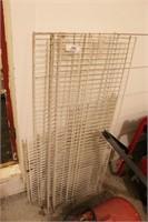 """Metal Shelving Racks 4', 32"""" and 24"""" Lengths"""