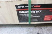 Pittsburgh Hydraulic Motorcycle Lift in Crate