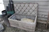 4' Poly Outdoor/Garden Storage