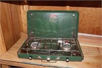 Coleman Propane 2 Burner Camp Stove Suitcase