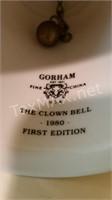 Gorham China The Clown Bell