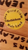 Hand Carved Olive Wood From Bethlehem