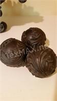 Regency Acanthus Leaf Bowl & Balls