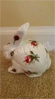 Hammersley Grandmother's Rose Trinket Box