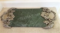 Godinger Silver Art Co  Marble Cheese Tray