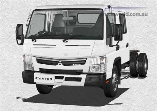 Fuso Canter 4x2 918 Wide Crew Cab LWB 5 Sp. MAN