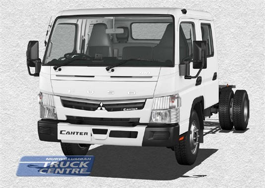 Fuso Canter 4x2 918 Wide Crew Cab LWB 6 Sp. DCT