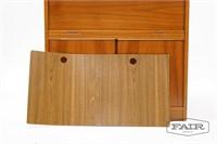 Tambour Door Cabinet